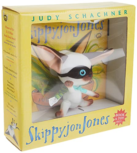 Skippyjon Jones Book and Toy set (0525477748) by Schachner, Judy