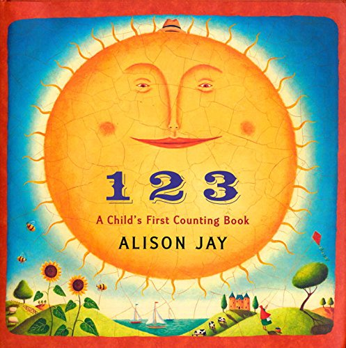 9780525478362: 1 2 3: A Child's First Counting Book