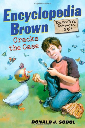 9780525479246: Encyclopedia Brown Cracks the Case (Encyclopedia Brown (Dutton Children's Books))