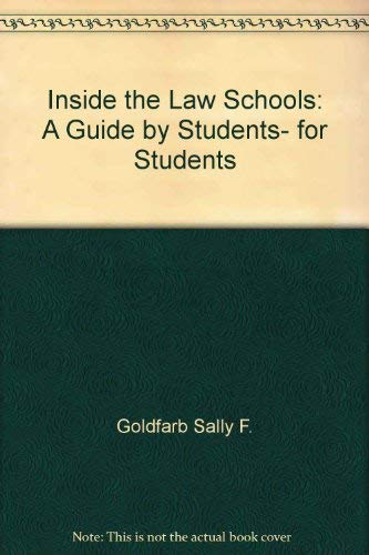 9780525480594: Inside the Law Schools
