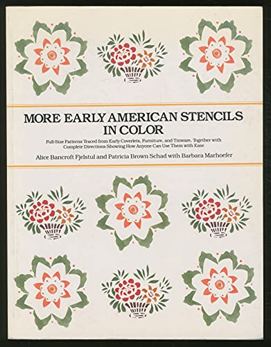 9780525481140: More Early American Stencils in Color
