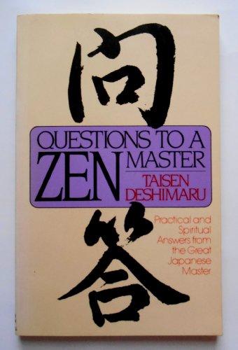 9780525481416: Deshimaru Taisen : Questions to A Zen Master (Pbk)