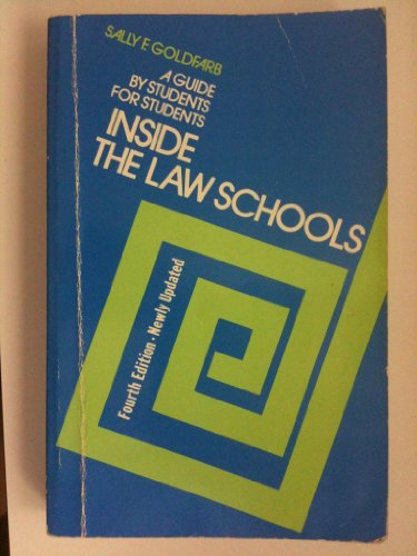 9780525482017: Inside the Law Schools