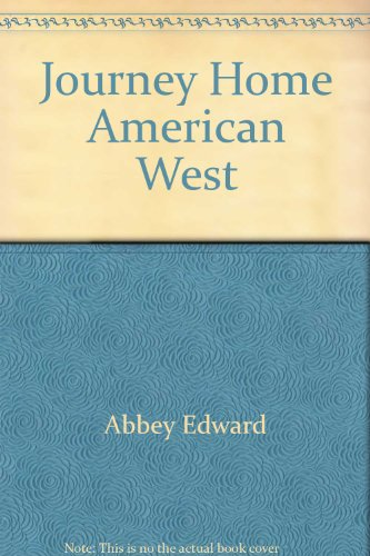9780525483151: Journey Home American West