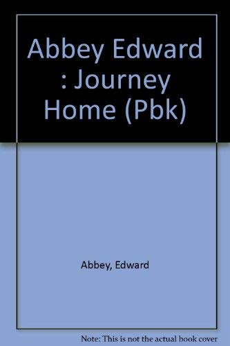 9780525483960: Abbey Edward : Journey Home (Pbk)