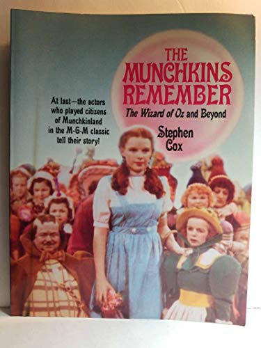 """Munchkins Remember : """"The Wizard of Oz"""": Cox, Stephen"""