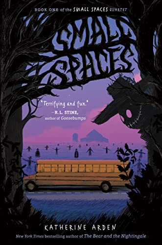 Cover of the book, Small Spaces (Small Spaces, #1).