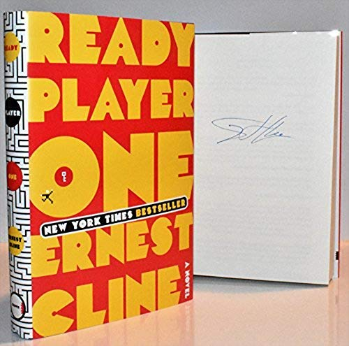 Ready Player One AUTOGRAPHED by Ernest Cline: Cline, Ernest