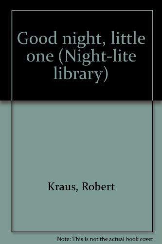 9780525615002: Good night, little one (Night-lite library)