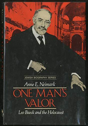 9780525671756: One Man's Valor (Jewish Biography)