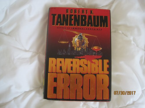 9780525934233: Tanenbaum Robert K : Reversible Error