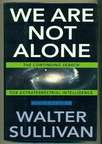 9780525936749: We Are Not Alone: 2The Continuing Search for Extraterrestrial Intelligence, Revised Edition