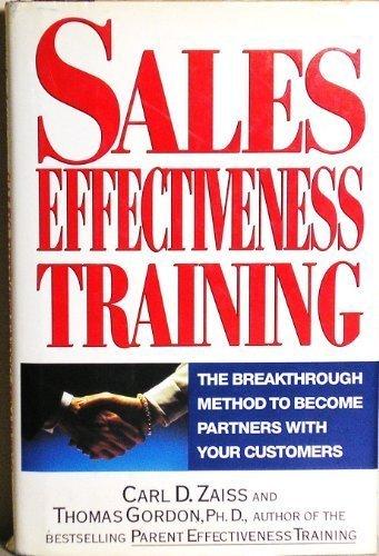 9780525936763: Sales Effectiveness Training