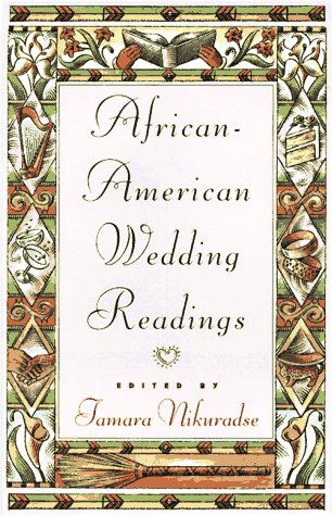 9780525944034: African-American Wedding Readings