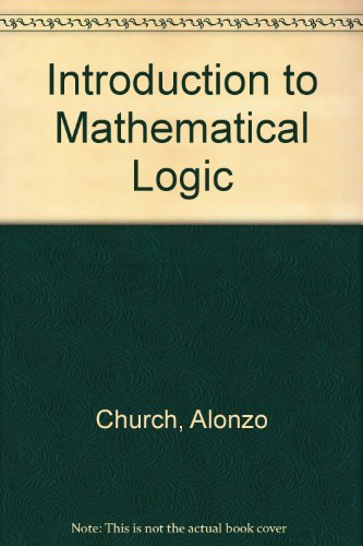 9780527027292: Introduction to Mathematical Logic