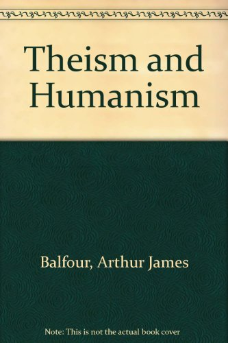 9780527048105: Theism and Humanism