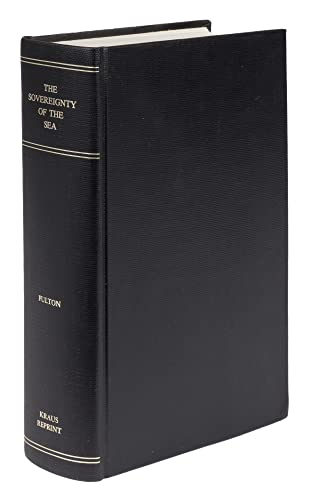 9780527318604: The Sovereignty of the Sea