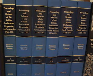 9780527357238: Proceedings and Debates of the British Parliaments Respecting North America: Covering the Years 1754-1776 Vols 1-6