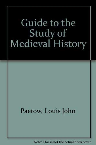 9780527691011: Guide to the Study of Medieval History