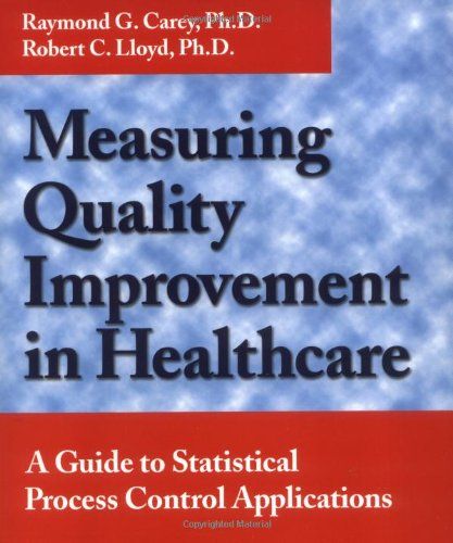 Measuring Quality Improvement in Healthcare: A Guide to Statistical Process Control Applications: ...