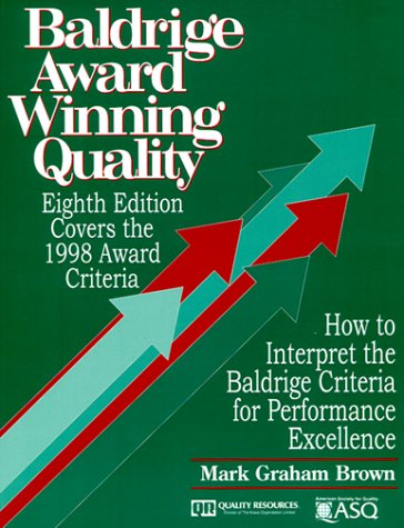9780527763480: Baldrige Award Winning Quality