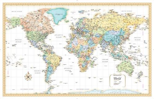 Rand Mcnally Classic World Map: Rand McNally
