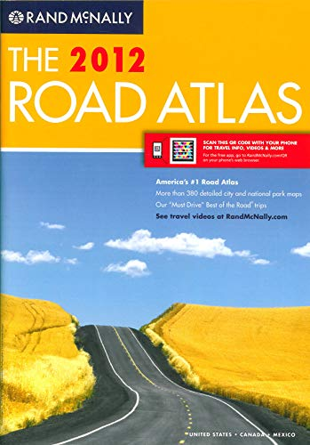 9780528003363: Rand McNally 2012 Road Atlas United States, Canada, Mexico (Rand McNally Road Atlas: United States/Canada/Mexico)