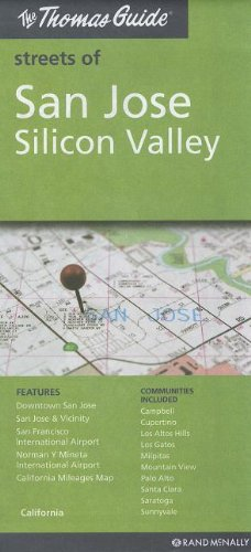 9780528003592: The Thomas Guide Streets of San Jose Silicon Valley