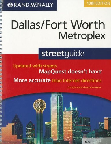 Rand McNally Dallas/Fort Worth Metroplex Street Guide