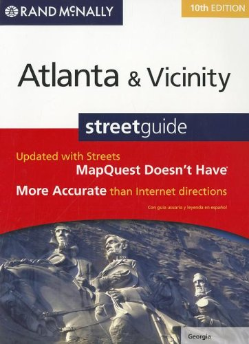 9780528004476: Rand Mcnally Atlanta, Georgia and Vicinity Streetguide (Rand McNally Atlanta & Vicinity Street Guide)