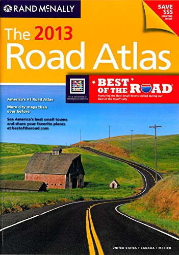 9780528006227: **Road Atlas Usa Canada 2013 (Rand Mcnally Road Atlas: United States, Canada, Mexico)