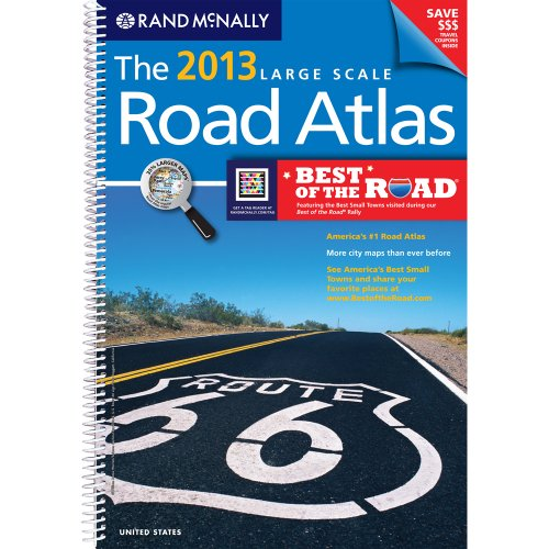 9780528006289: Rand McNally 2013 Large Scale Road Atlas: United States