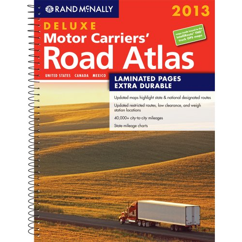 9780528006364: Deluxe Motor Carriers' Road Atlas (Rand Mcnally Motor Carriers' Road Atlas Deluxe Edition)
