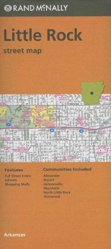 9780528007590: Folded Map Little Rock Streets, AR