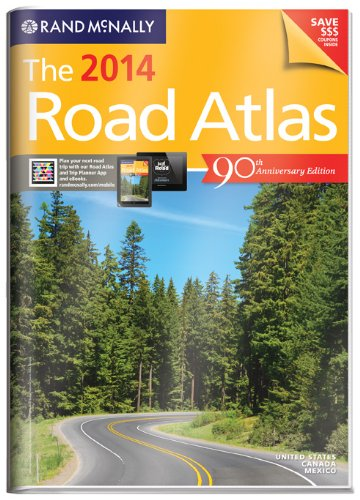 9780528007705: Rand McNally 2014 Gift Road Atlas (with protective cover) (Rand Mcnally Road Atlas United States/ Canada/Mexico (Vinyl Covered Edition))