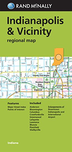 9780528007774: Folded Map: Indianapolis and Vicinity Regional Map