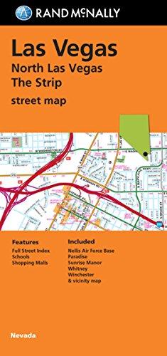 9780528007811: Rand McNally Las Vegas/North Las Vegas/The Strip Street Map: Nevada