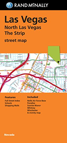 9780528007811: Folded Map: North Las Vegas The Strip Street Map