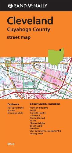 9780528007958: Rand McNally Cleveland, Cuyahoga County Street Map