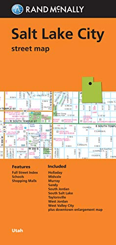 9780528007965: Rand McNally Folded Map: Salt Lake City