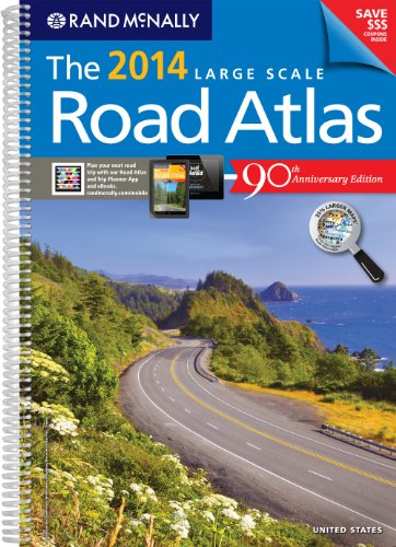 9780528008054: Rand Mcnally Large Scale Road Atlas 2014: United States