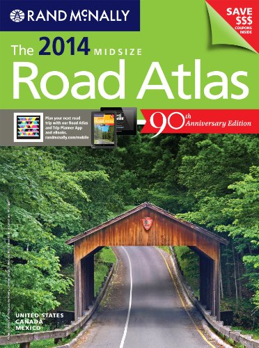 9780528008092: Rand Mcnally 2014 Midsize Road Atlas