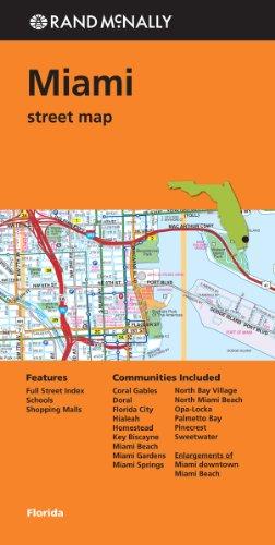 9780528008801: Rand McNally: Miami Street Map (Rand Mcnally Street Map)
