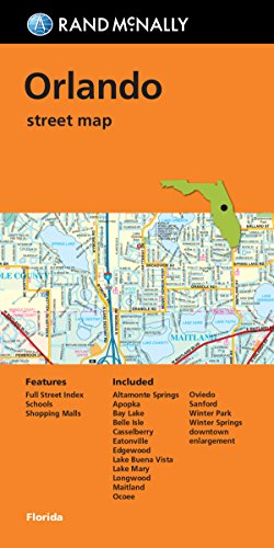 9780528008818: Folded Map Orlando FL Streets