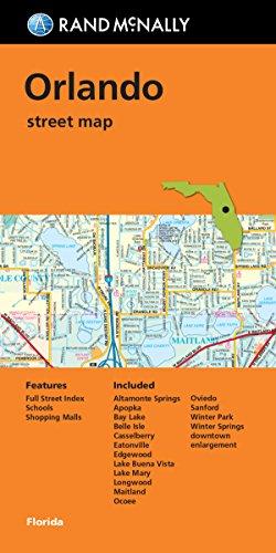 9780528008818: Rand Mcnally Folded Map: Orlando Street Map