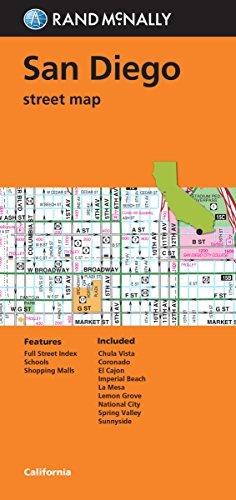 9780528008825: Folded Map: San Diego Street Map