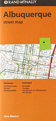 9780528008863: Rand McNally Albuquerque Street Map - AbeBooks ...