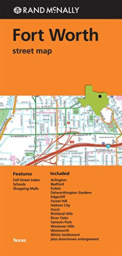 9780528008894: Rand McNally: Folded Map: Fort Worth Street Map
