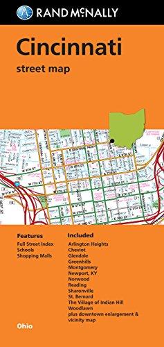 9780528008900: Folded Map: Cincinnati Street Map (Rand Mcnally)