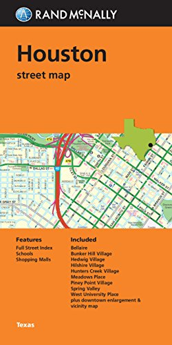 9780528008931: Houston Street Map